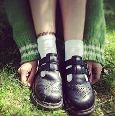 mary jane dr martens wear - Google Search