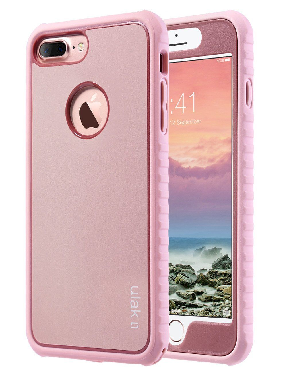 low priced 0906e 65ca7 Amazon.com: iPhone 8 Plus Case, iPhone 7 Plus Case, ULAK Shockproof ...