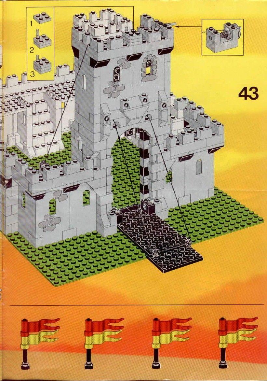 castle kings castle lego 6080 everything legos pinterest lego anleitung lego und lernen. Black Bedroom Furniture Sets. Home Design Ideas