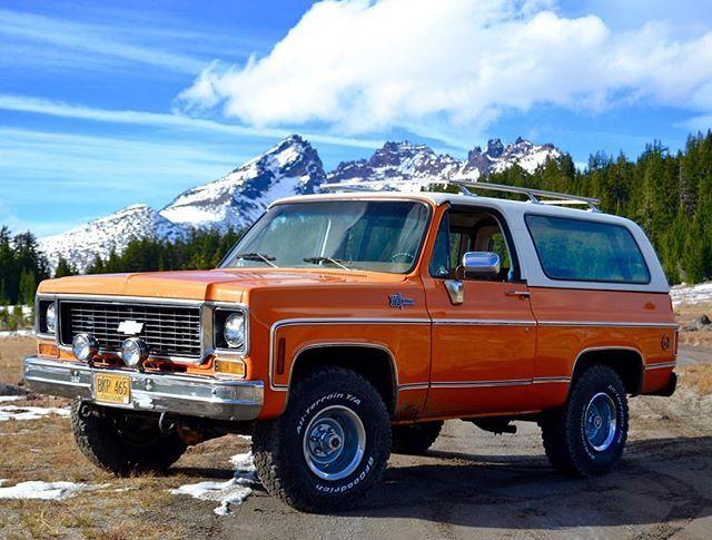 1973 k5 blazer | K5's | Chevy trucks, Chevrolet blazer
