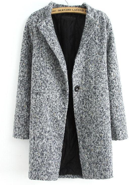 Veste femme tweed gris