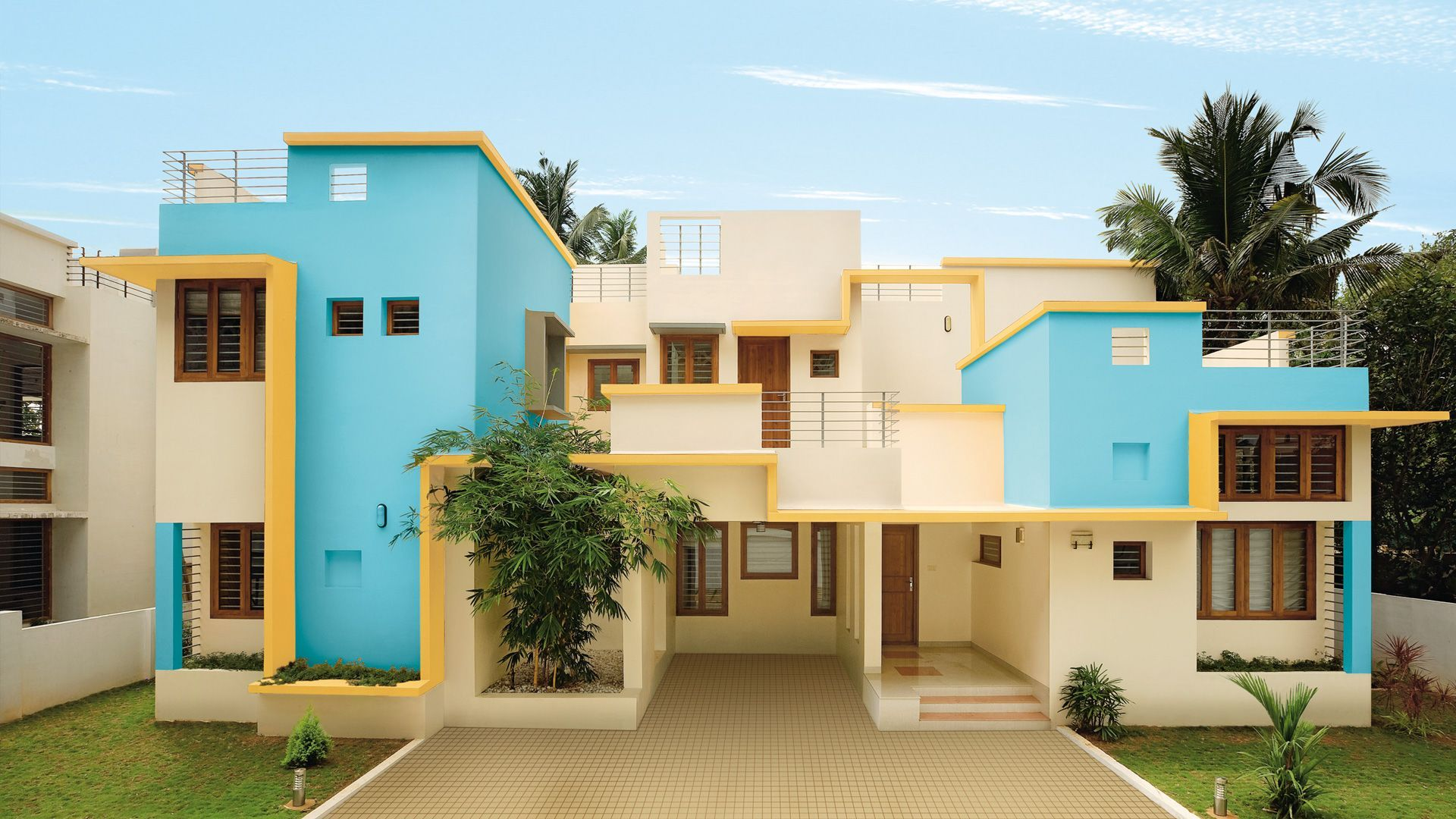 Apartment Building Exterior Paint Colors asian paints apex ultima with colour stay™ - image gallery