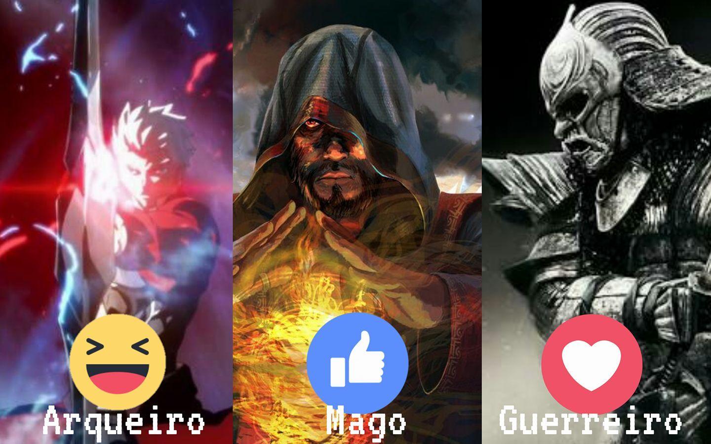 Qual você mais gosta? Notícias de Games e tudo sobre E