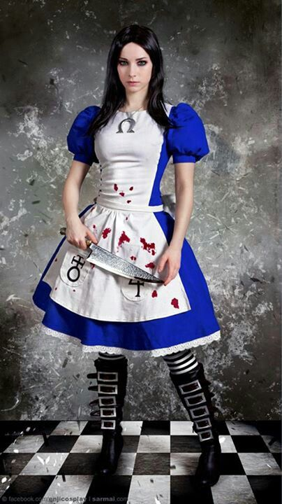 Alice in wonderland madness returns cosplay