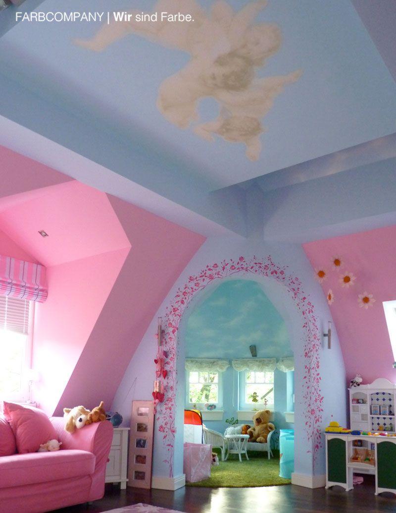 Raumgestaltung eines Traum Kinderzimmers. Malerarbeiten Hannover ...