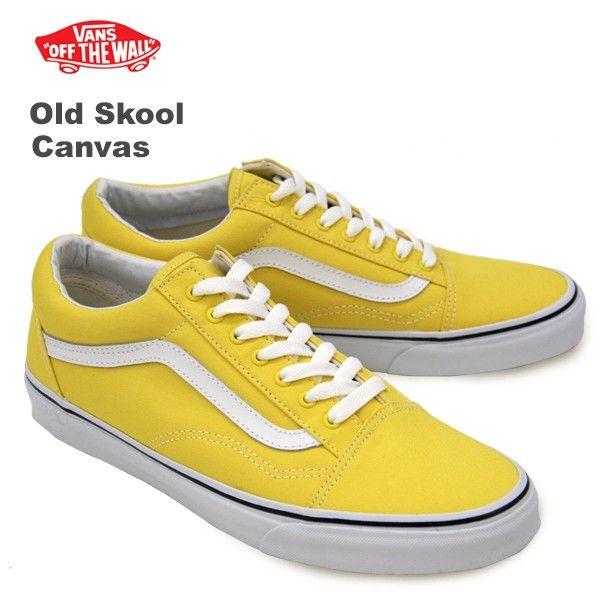 f496a8113bc25c (VANS)  (Old Skool Canvas) Canvas Vibrant Yellow True White   neo vn-0zdff9q  -  58.50   Vans Shop