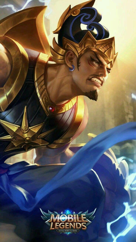 Gatotkaca Iron Steel Gambar Teman Desain Karakter Game Gambar Karakter