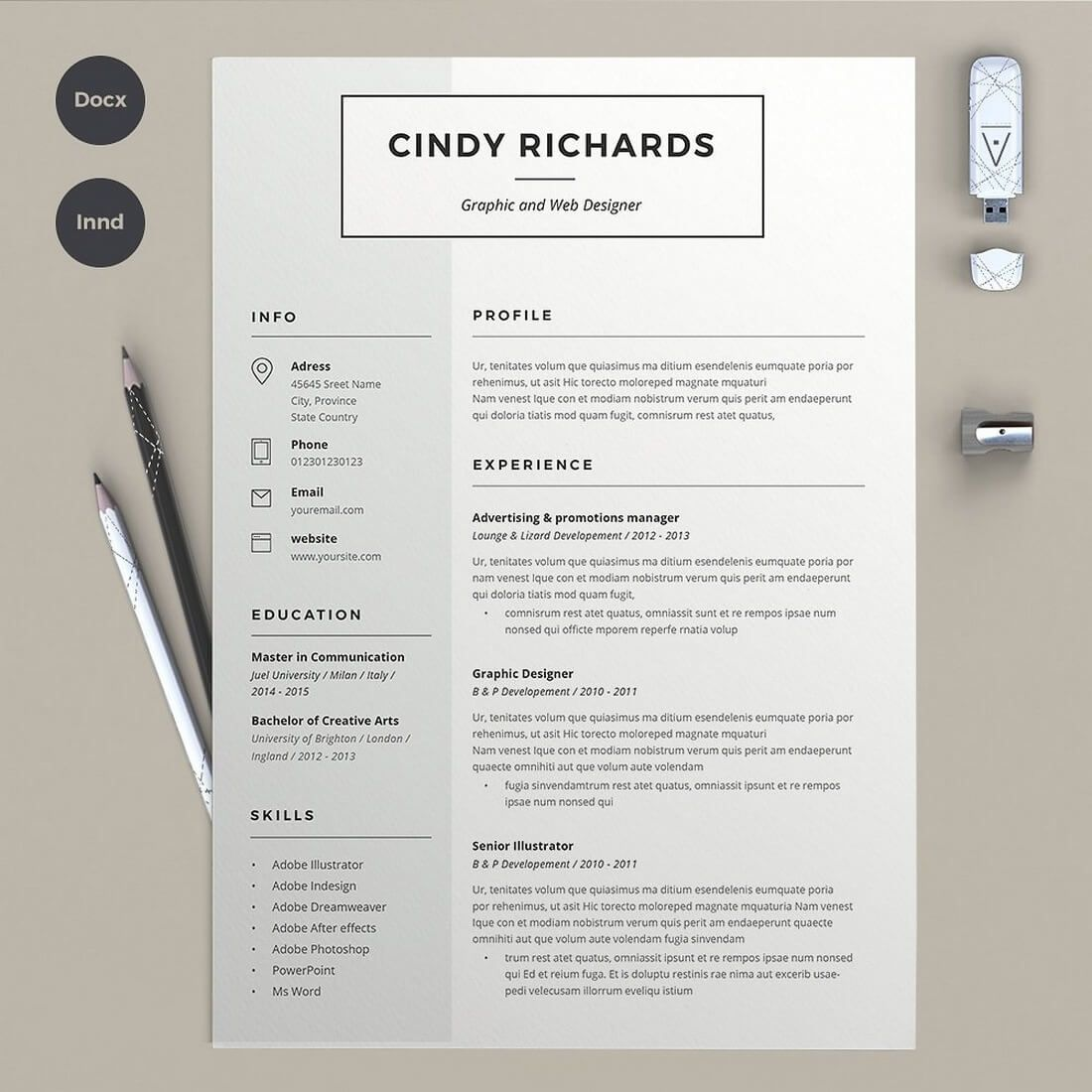 50+ Best CV & Resume Templates 2020 Creative resume