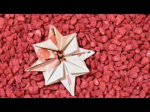 Geschenkidee Weihnachten Stern Aus Geld Falten Youtube