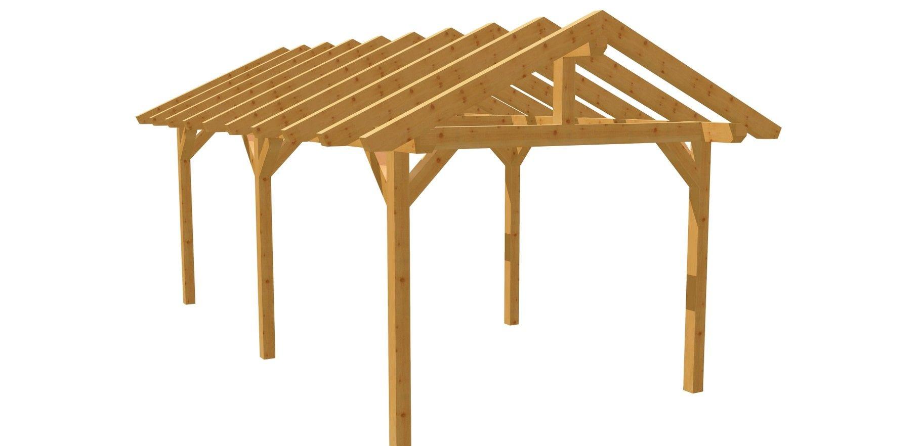 Carport Selber Bauen 3m X 6m Carport Selber Bauen Carport Holz Bauplan