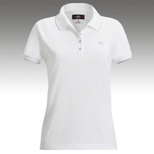 72a8165af7 Womens Golfing Shirts by Loudmouth Golf - Border White w White Tipping. Buy  it   ReadyGolf.com