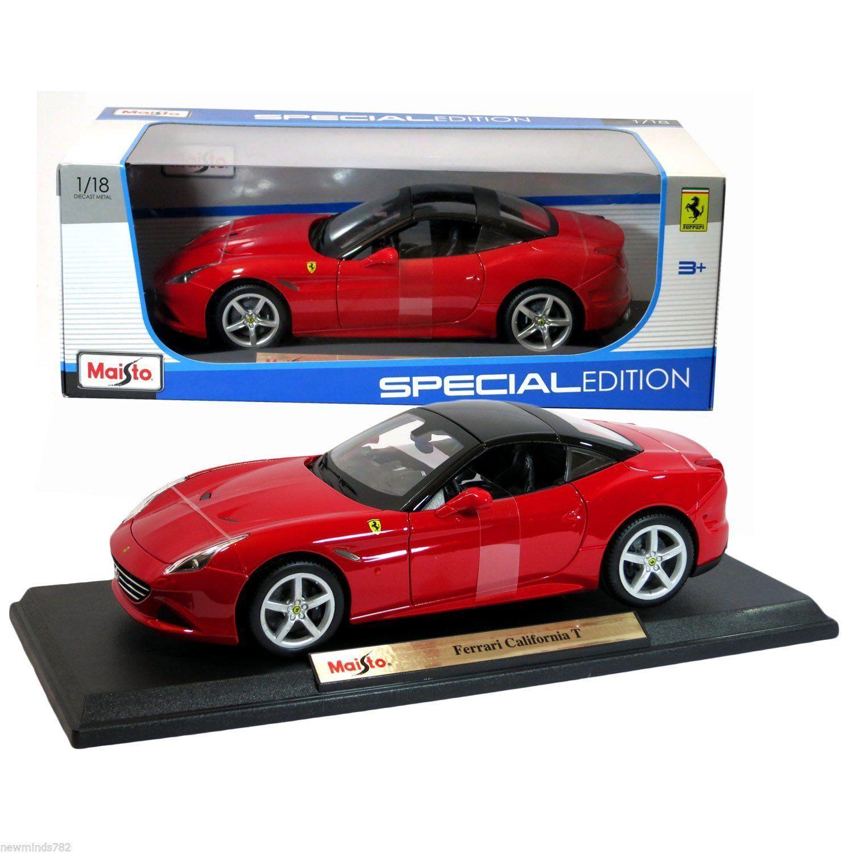 Ferrari California T Closed Top Red 1 18 Scale Diecast Model Car By Maisto 31899 Ferrari California Ferrari California T Ferrari