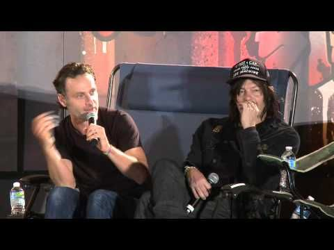 """WSC ATL 2014 """"Rickyl"""" with Andrew Lincoln, Norman Reddus and Greg Nicotero"""