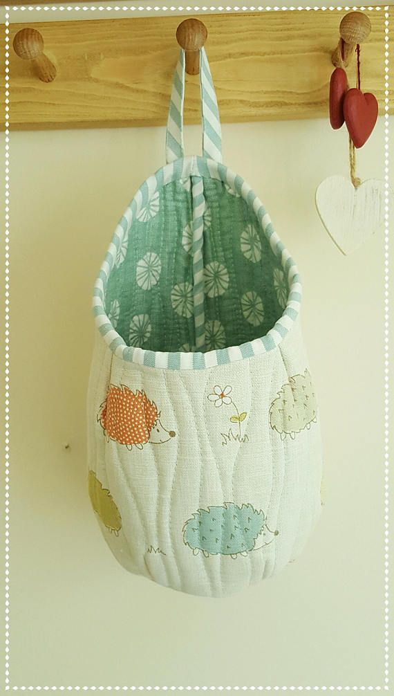 Hanging Fabric Storage Pod Baskets Pod Storage Crafting