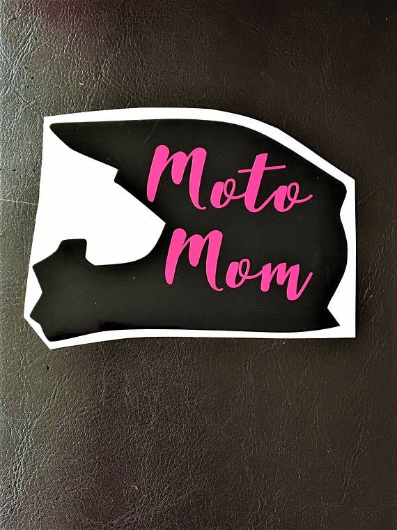 Moto Mom Decal – Car Decal – Motocross Decals – Mom Gift – Motocross Mom – Vinyl Decal – Motocross – Car Window Decal – Racing Decal