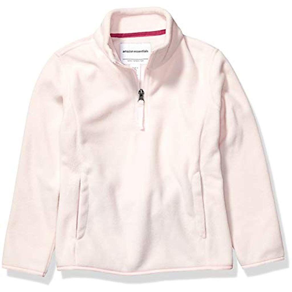 Essentials Quarter-Zip Polar Fleece Jacket Bambina
