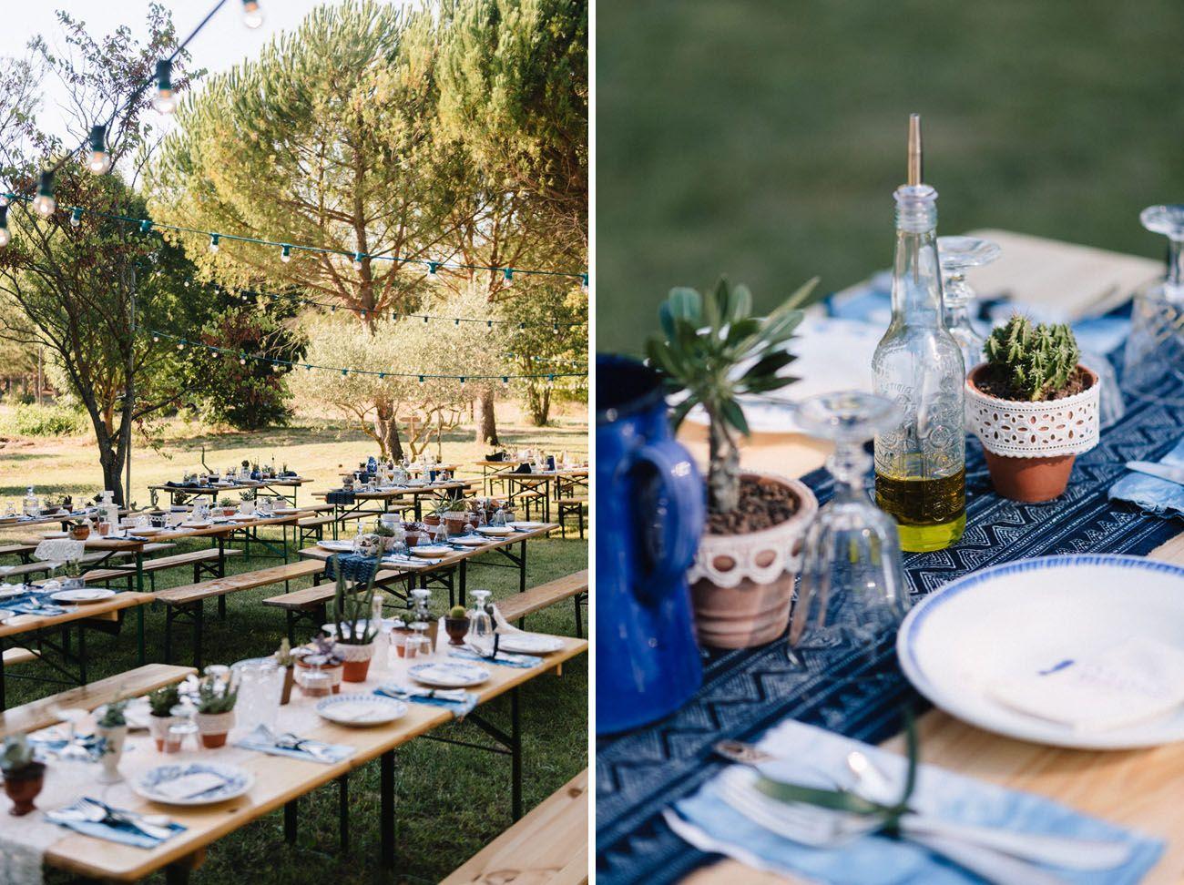 Rustic French Wedding