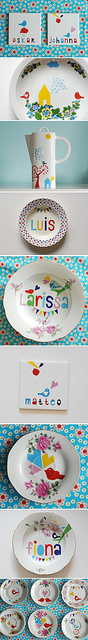 Pretty plates by Ninainvorm