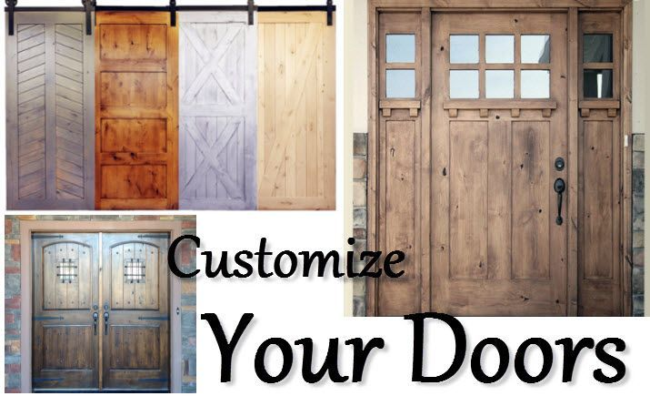 Customized Door Finishing. Have you been considering custom doors for your current home construction or & Customized Door Finishing. Have you been considering custom doors ...
