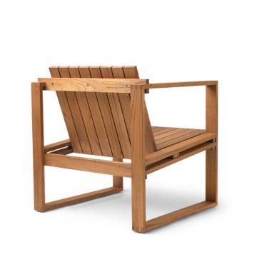 Bodil Kjaer Outdoor Teak Lounge Chair Teak Lounge Chair Lounge Chair Outdoor Beautiful Outdoor Furniture