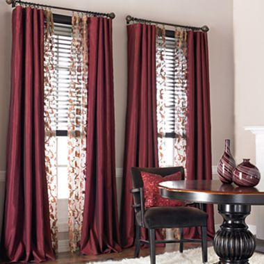 I Do Like Double Windows This Close Together With The Fullness That Comes From Having Drapes On Either Side Of Both And Sheers Can It