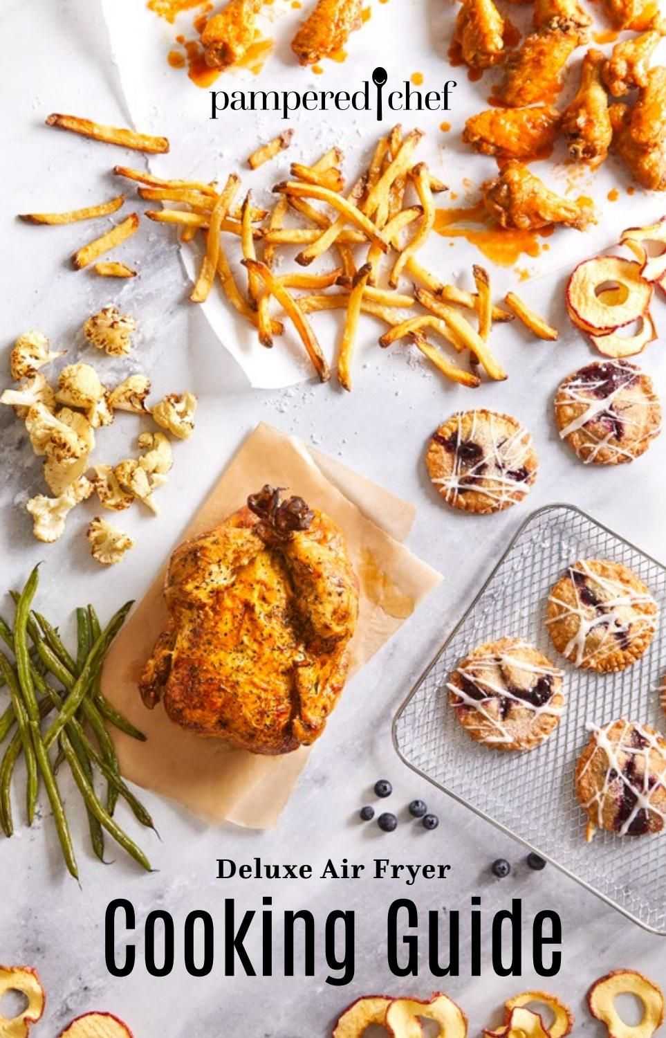 Pampered Chef Air Fryer Recipes