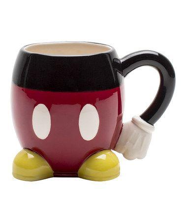 Love this Sculpted Mickey Mug on #zulily! #zulilyfinds