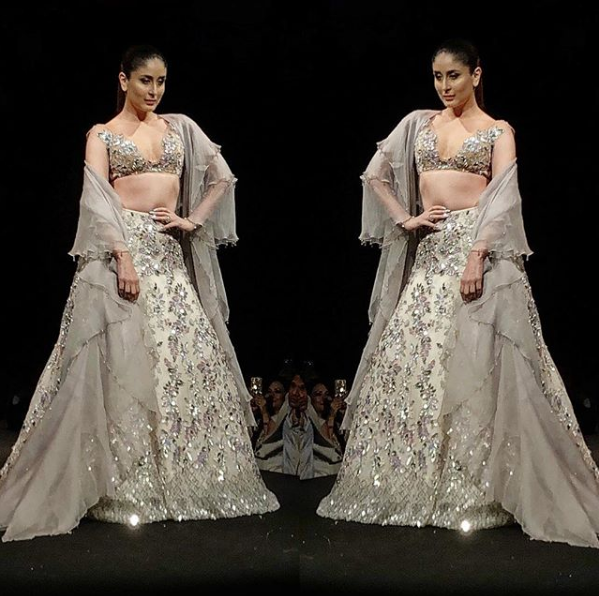 Kareena Kapoor In A Lehenga Design By Manish Malhotra Bridal Lehenga Choli Indian Wedding Dress Manish Malhotra Lehenga