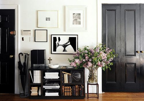 love this for an entryway wall