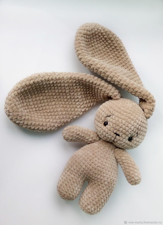 Заяц с длинными ушами зефирная игрушка – заказать