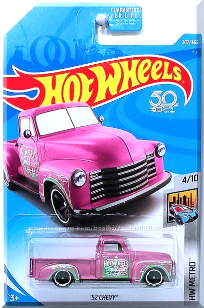 748b2f45ffde Hot Wheels -  52 Chevy  HW Metro  4 10 -  207 365 (2018)  Pink ...