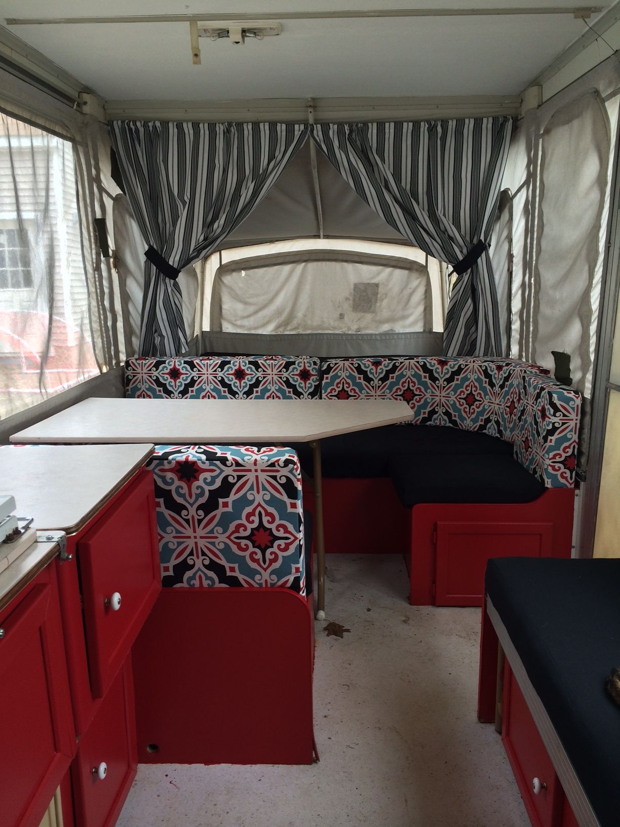 After Pop Up Redo Ready For Camping Pop Up Camper Tent