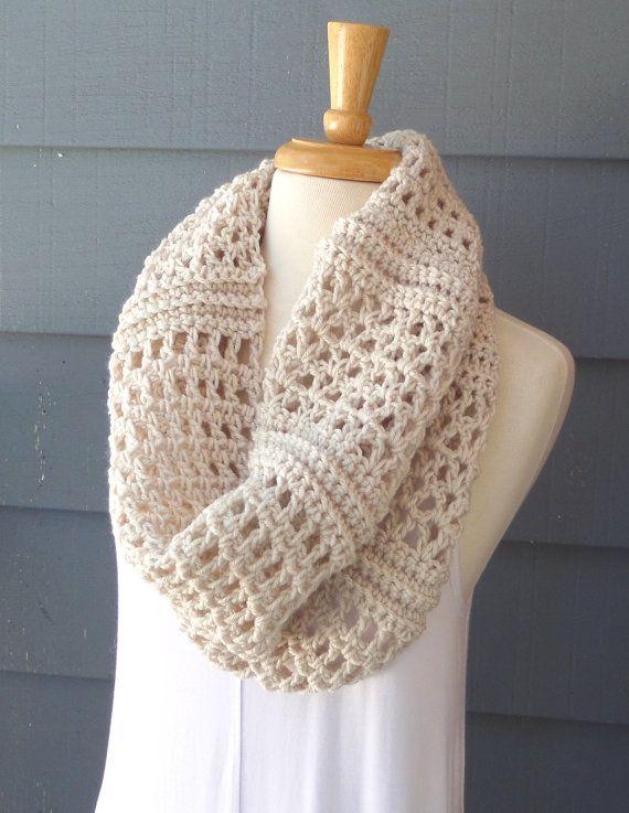 PATTERN C-080 / Crochet Pattern/ Clarice Cowl by BellaMaePatterns ...