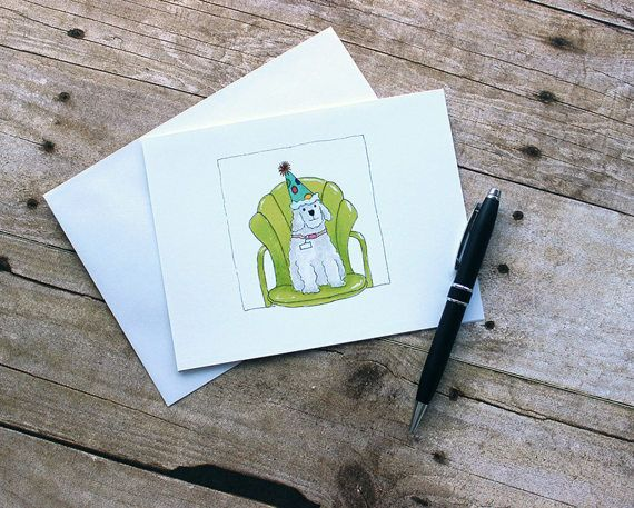 Unique Birthday Cards For Him ~ Description: happy birthday dog. this little dog is having a great