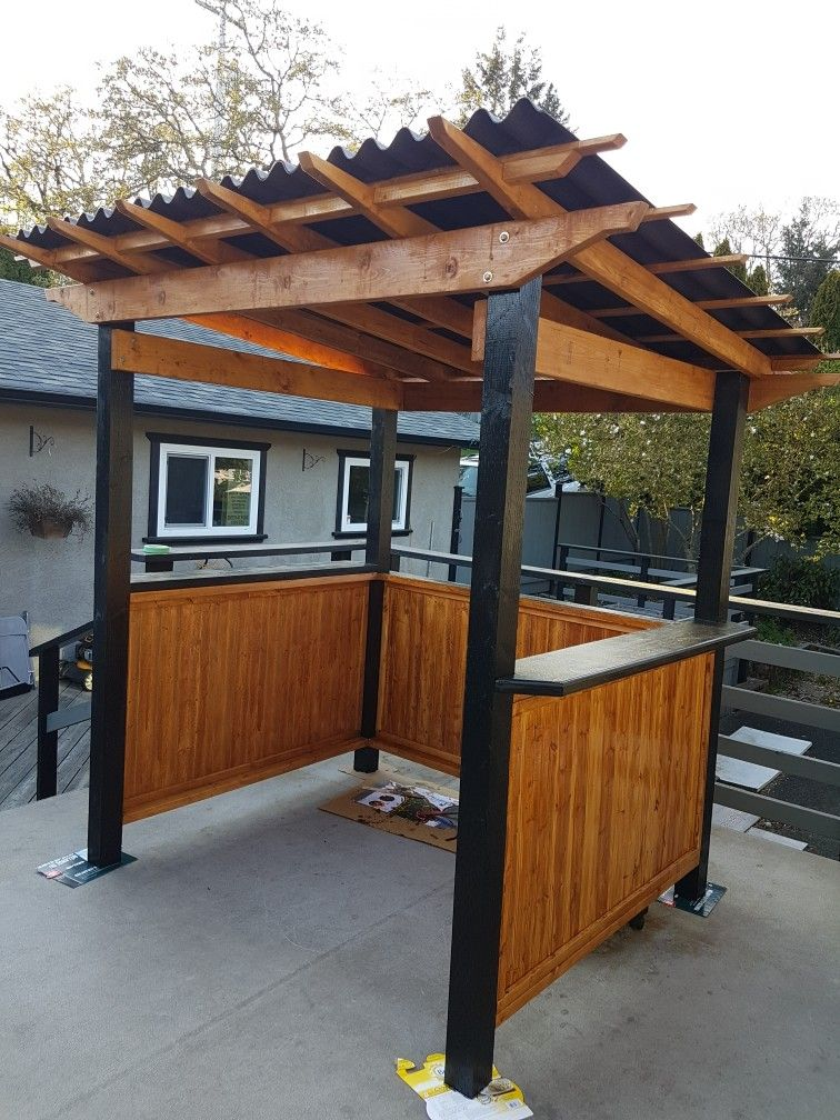 Barbecue areas patio design outdoor grill station
