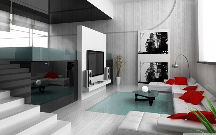 Wohnideen Rot inneneinrichtung ideen inneneinrichter wohnideen loft stil bauhaus