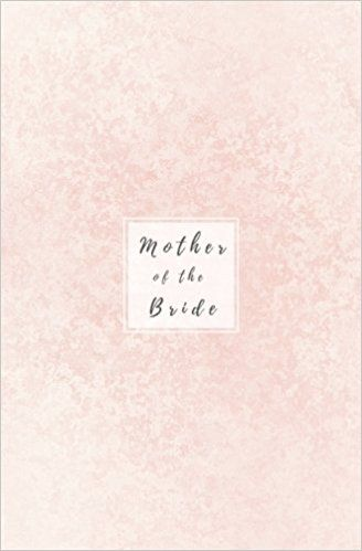 Mother of the Bride Light Pink Wedding Planner; Bridal Journal - blank line paper