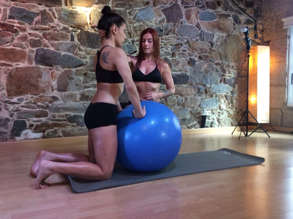 hypopressive fitball exercise low pressure fitness effort pinterest fitness exercise and. Black Bedroom Furniture Sets. Home Design Ideas