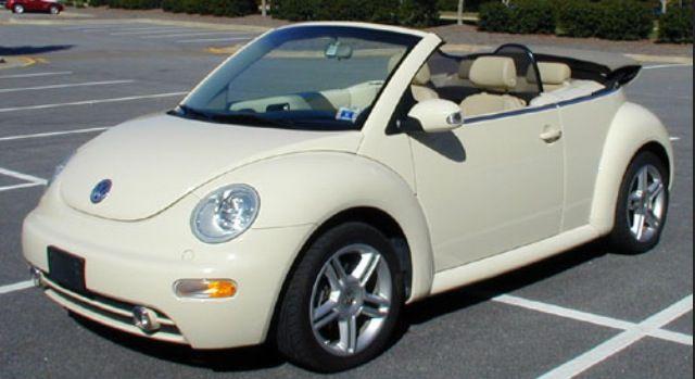 Cream Colored Convertible Bug Grandma Car I Want With My Future Grand Kids
