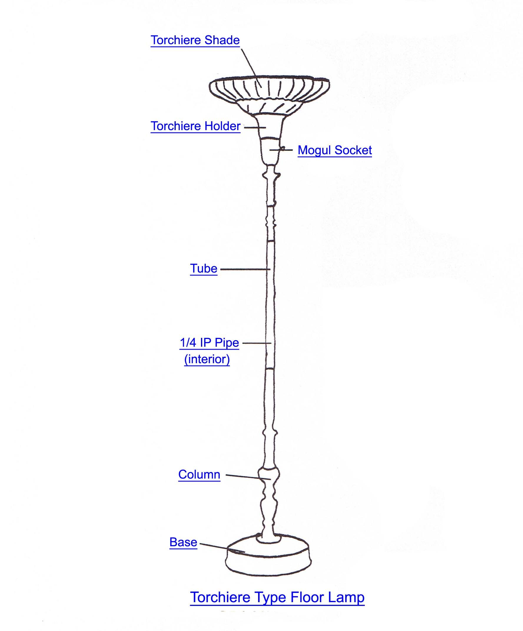 replacement chandelier table light you shade for lighting lamp wholesale plastic parts perfect torchiere dish glass ideas