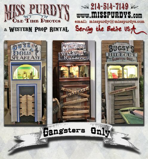 """""""Gangsters Only"""" Old Time Gangster Outbuildings And Great"""