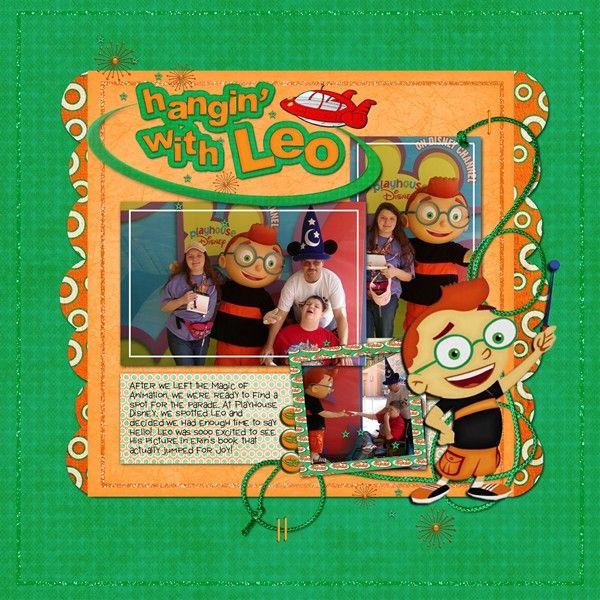 Leo - Little Einsteins - MouseScrappers.com | Little ...