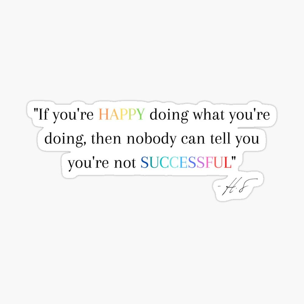 Harry Styles quote Sticker by pinecactus06