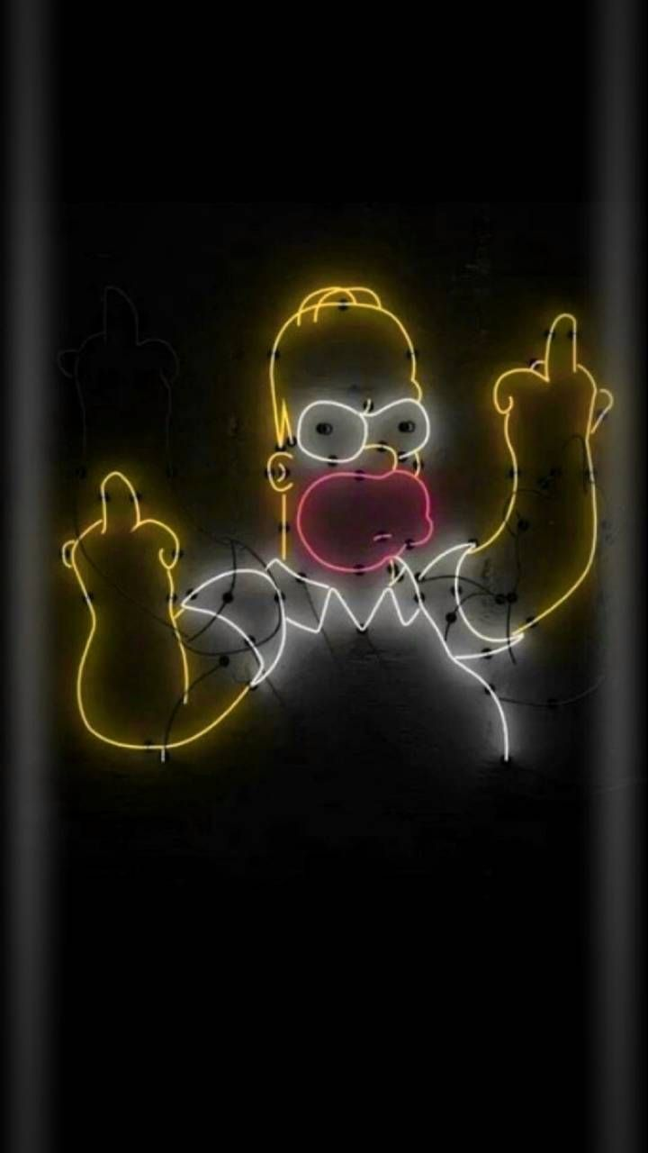 Download Homer Wallpaper By Georgekev 78 Free On Zedge Now Browse Millions Of Popular Black Wallpap Arte Simpsons Imagem De Fundo Para Iphone Os Simpsons