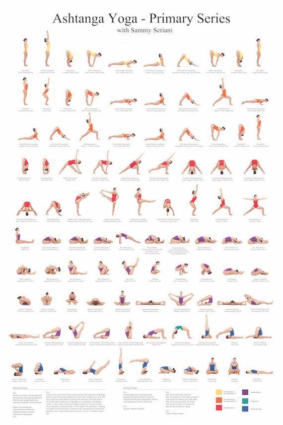 Photo of Ashtanga Yoga Primärserienplakat