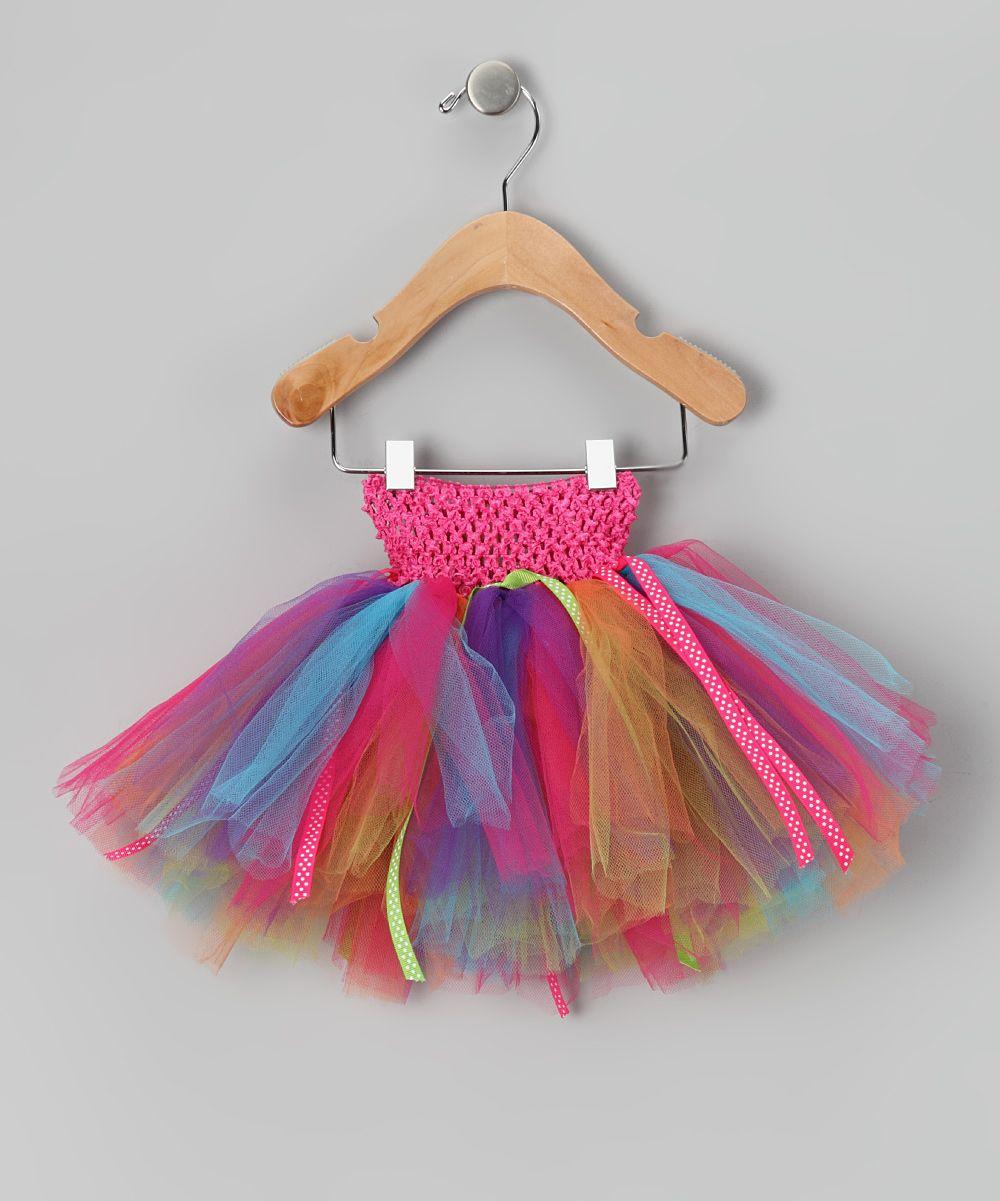 027c30833 Bright Rainbow Tutu - Infant, Toddler & Girls | hobbi dresses ...