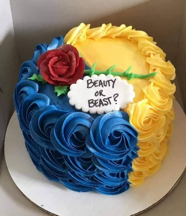 Beauty And The Beast Gender Reveal Disney Gender Reveal