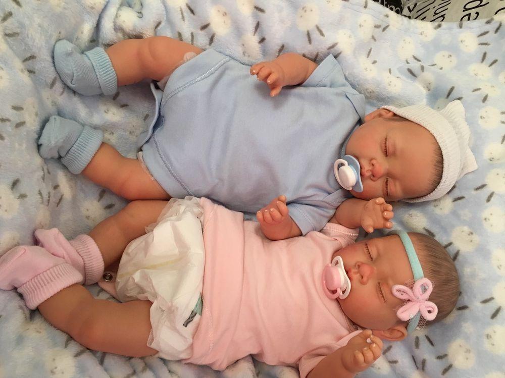 MADE TO ORDER Magnifique bébé reborn fille Anna Enfant Nouveau-né Friendly 3