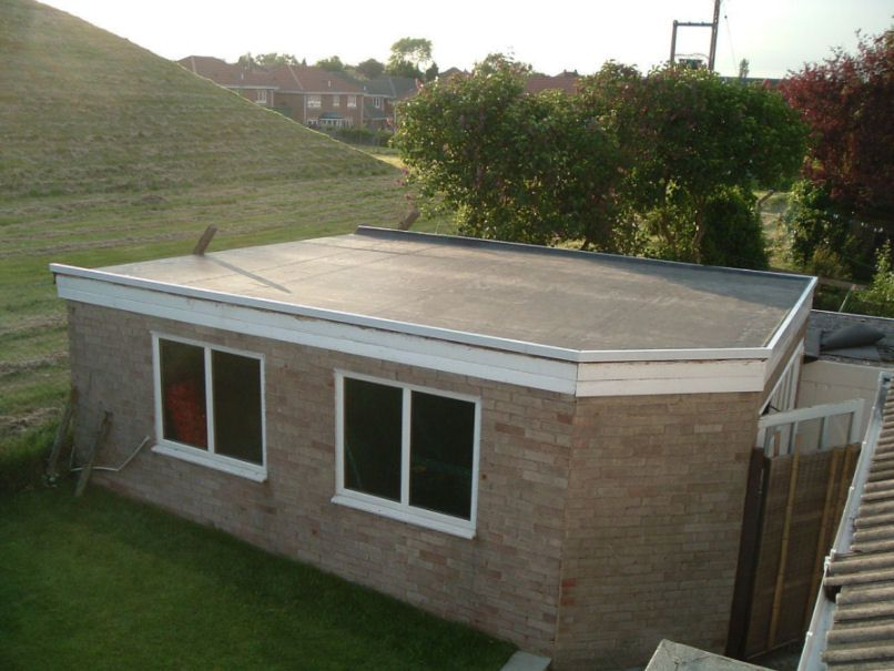 Repairing a flat roof can be tricky depending on the type for Modern roof design types