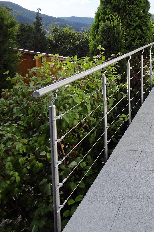 Gelander Seil In 2020 Terrassen Gelander Gelander Aussen Im Freien
